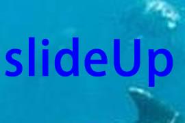 jQuery中slideUp()以及slideDown()方法