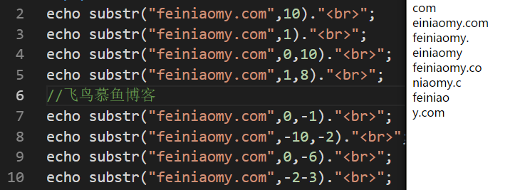 substr(),php截取字符串,PHP截取指定字符串,PHP截取中文字符