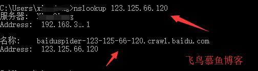 windows 系统IP反向解析查询的方法